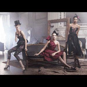 Harper's Bazaar add showing this dress.